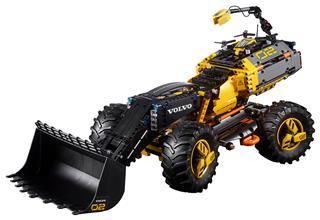 LEGO 42081 - LEGO Technic - Volvo ZEUX - kerekes rakodógép