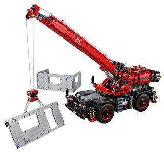 LEGO 42082 - LEGO Technic - Daru egyenetlen terepen