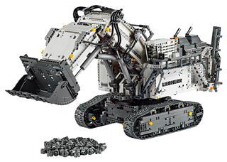 LEGO 42100 - LEGO Technic - Liebherr R 9800 Exkavátor