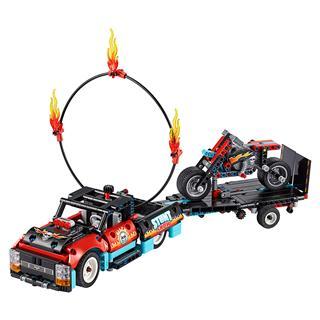 LEGO 42106 - LEGO Technic - Kaszkadőr teherautó és motor