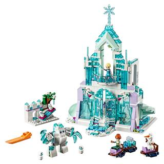 LEGO 43172 - LEGO Disney - Elsa varázslatos jégpalotája