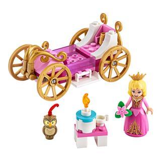 LEGO 43173 - LEGO Disney - Csipkerózsika királyi hintója