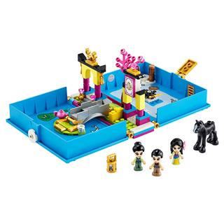 LEGO 43174 - LEGO Disney - Mulan mesekönyve
