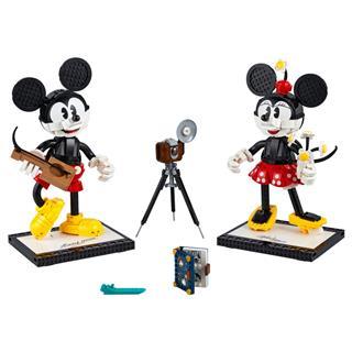 LEGO 43179 - LEGO Disney - Megépíthető Mickey és Minnie egér