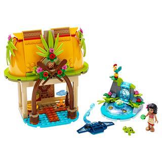 LEGO 43183 - LEGO Disney - Vaiana otthona a szigeten