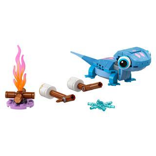 LEGO 43186 - LEGO Disney - Bruni a szalamandra, megépíthető karakter
