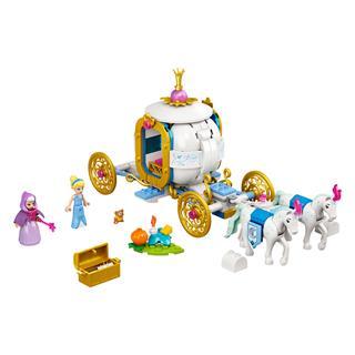 LEGO 43192 - LEGO Disney - Hamupipőke királyi hintója