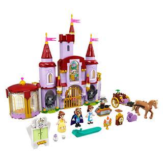 LEGO 43196 - LEGO Disney - Belle és a Szörnyeteg kastélya