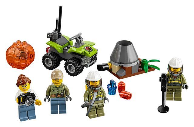 LEGO 60120 - LEGO City - Vulkán kezdőkészlet