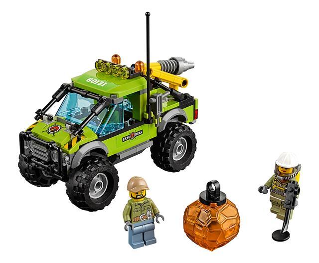 LEGO 60121 - LEGO City - Vulkánkutató kamion