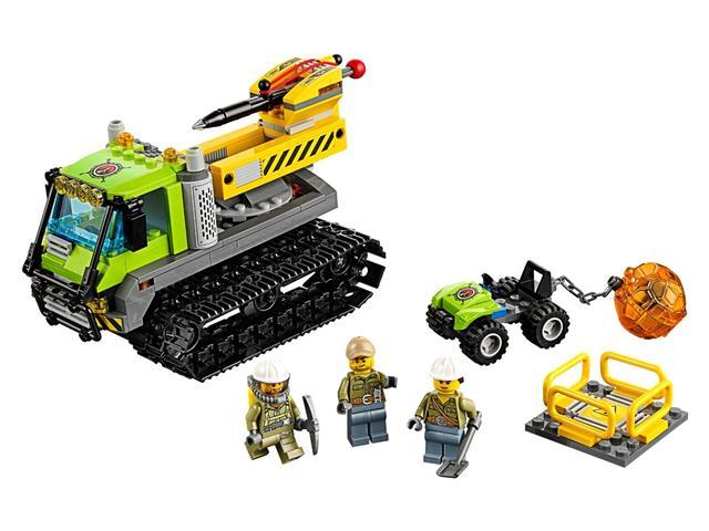 LEGO 60122 - LEGO City - Vulkánkutató lánctalpas jármű