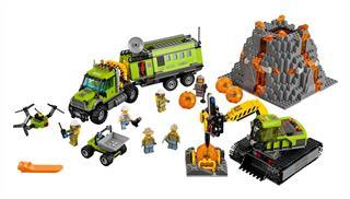 LEGO 60124 - LEGO City - Vulkánkutató bázis