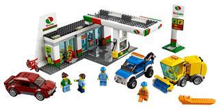 LEGO 60132 - LEGO City - Benzinkút
