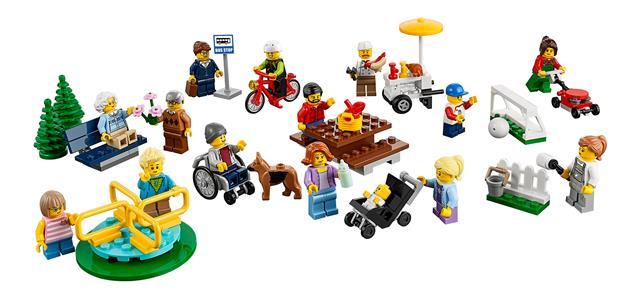 LEGO 60134 - LEGO City - Móka a parkban - City figuracsomag
