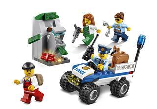 LEGO 60136 - LEGO City - Rendőrségi kezdőkészlet