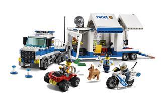 LEGO 60139 - LEGO City - Mobil rendõrparancsnoki központ