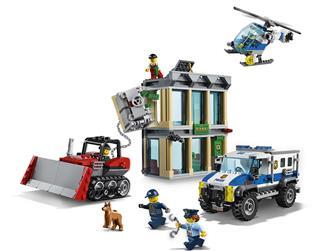 LEGO 60140 - LEGO City - Buldózeres betörés