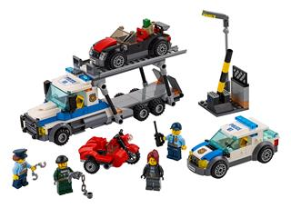 LEGO 60143 - LEGO City - Az autószállító kirablása