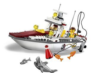 LEGO 60147 - LEGO City - Horgászcsónak