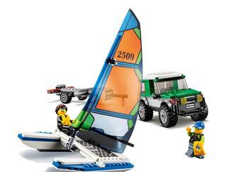 LEGO 60149 - LEGO City - 4x4 terepjáró katamaránnal