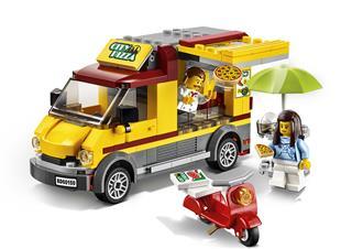 LEGO 60150 - LEGO City - Pizzás furgon