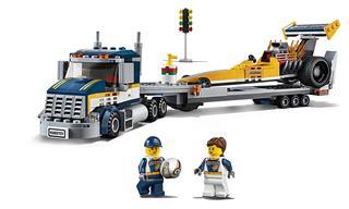 LEGO 60151 - LEGO City - Dragster szállító kamion