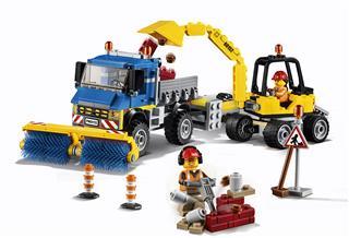 LEGO 60152 - LEGO City - Seprőgép és exkavátor