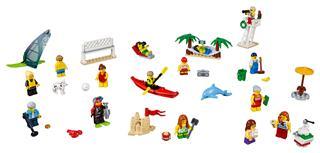 LEGO 60153 - LEGO City - Figuracsomag – Szórakozás a tengerparton