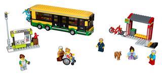 LEGO 60154 - LEGO City - Autóbusz állomás