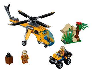 LEGO 60158 - LEGO City - Dzsungel teherszállító helikopter