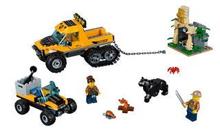 LEGO 60159 - LEGO City - Dzsungel küldetés félhernyótalpas járművel