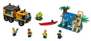 LEGO 60160 - LEGO City - Dzsungel mozgó labor