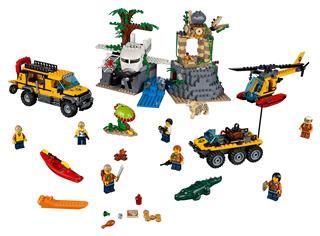 LEGO 60161 - LEGO City - Dzsungel kutatási terület