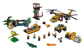 LEGO 60162 - LEGO City - Dzsungel utánpótlás-szállító helikopter