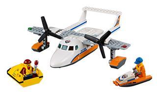 LEGO 60164 - LEGO City - Tengeri mentőrepülőgép