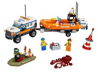 LEGO 60165 - LEGO City - 4 x 4 Sürgősségi egység