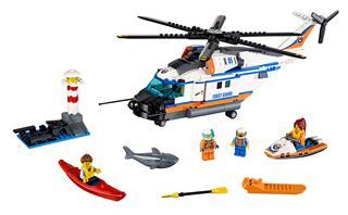 LEGO 60166 - LEGO City - Nagy teherbírású mentőhelikopter