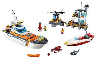 LEGO 60167 - LEGO City - A parti őrség főhadiszállása
