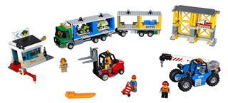 LEGO 60169 - LEGO City - Teher terminál