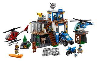 LEGO 60174 - LEGO City - Hegyi Rendőrkapitányság