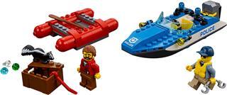 LEGO 60176 - LEGO City - Menekülés a vad folyón