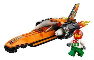 LEGO 60178 - LEGO City - Sebességrekorder autó