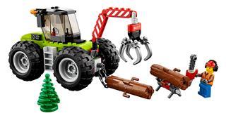 LEGO 60181 - LEGO City - Erdei Traktor