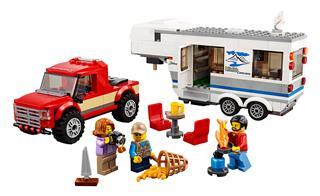 LEGO 60182 - LEGO City - Furgon és lakókocsi