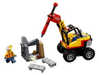 LEGO 60185 - LEGO City - Bányászati hasítógép