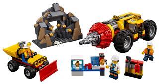 LEGO 60186 - LEGO City - Nehéz bányafúró