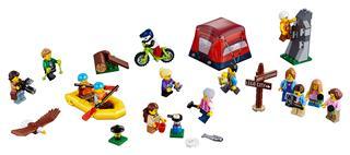 LEGO 60202 - LEGO City - Figuracsomag - Szabadtéri kalandok