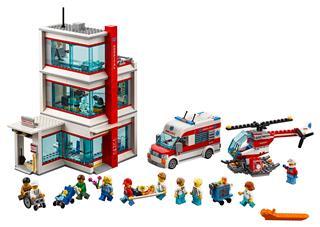 LEGO 60204 - LEGO City - LEGO City Kórház