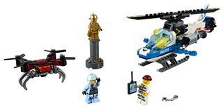 LEGO 60207 - LEGO City - Légi rendőrségi drónos üldözés