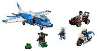 LEGO 60208 - LEGO City - Légi rendőrségi ejtőernyős letartóztatás